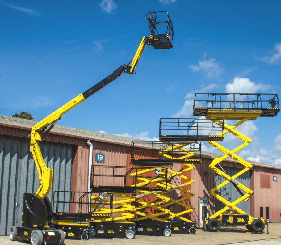 Podnośniki koszowe (boom lift) i podnośniki nożycowe (scissor lift) są jednymi z popularniejszych rodzajów podestów ruchomych. Marki: JLG, Genie, Upright, SKYJECK, MANITOU, JCB, Houlotte)